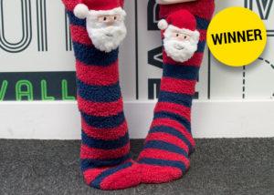 Festive Socks Winner
