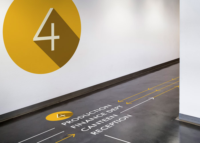 Wayfinding Signage And Floor Graphics Mx Display