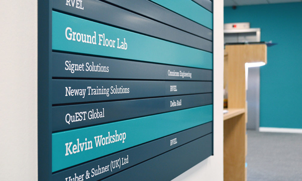 Directory signs from MX Display