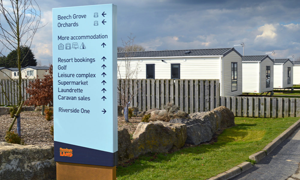 Totem signage for visitor attractions